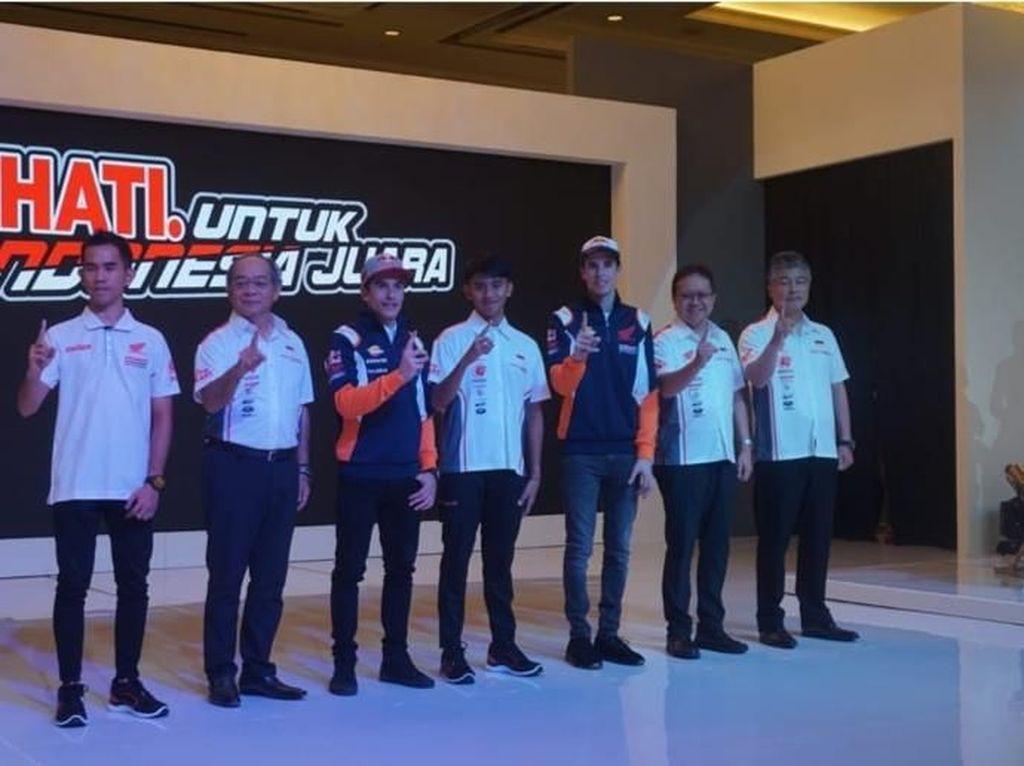 Pebalap Astra Honda Racing Team Siap Harumkan Indonesia di Mata Dunia