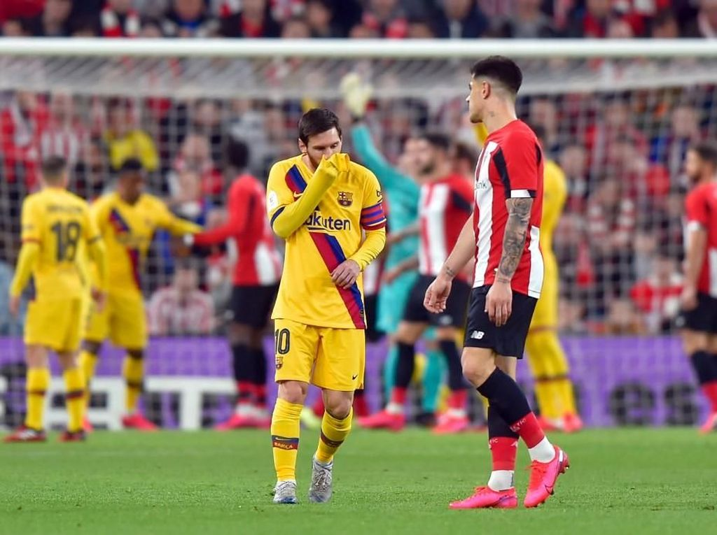 Athletic Bilbao Vs Barcelona: Video Gol Dramatis di Injury Time