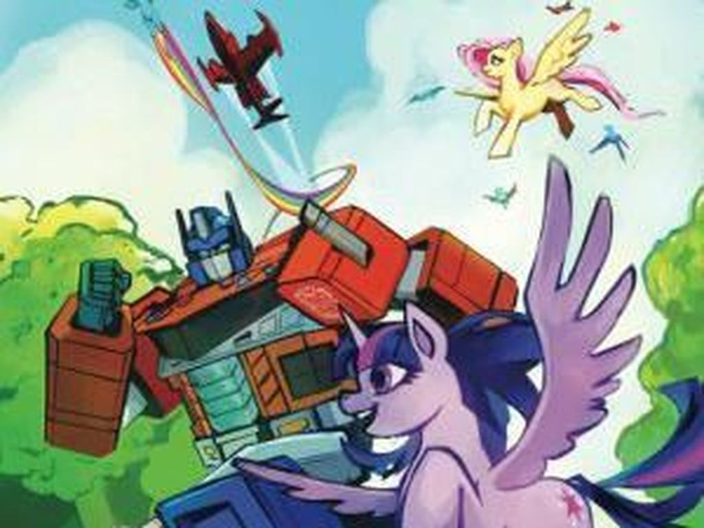 Crossover My Little Pony dan Transformers Diumumkan!