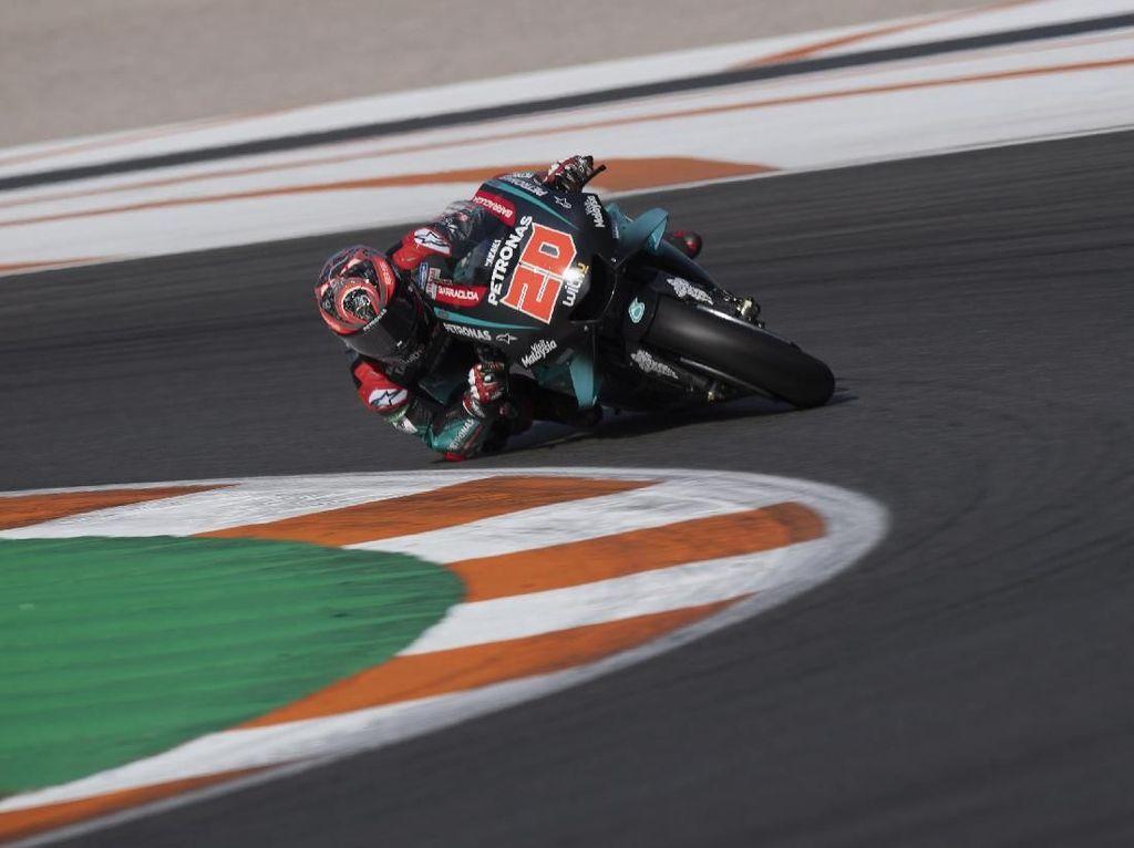 Quartararo Tercepat di Hari Pertama Tes MotoGP Sepang