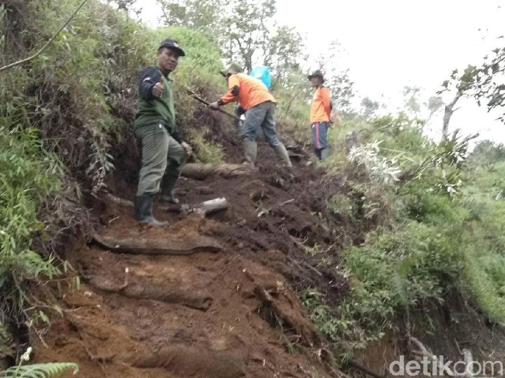 Antisipasi Banjir Lagi di Merbabu, Jalur Pendakian di Pos 2 Dialihkan