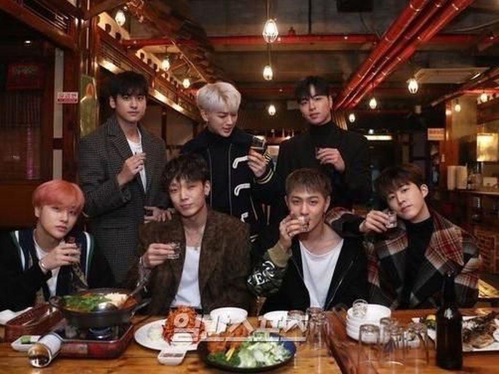 Intip Keseruan Momen Kuliner iKON yang Baru Rilis Lagu Baru!