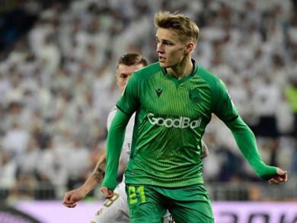 Odegaard Bikin Gol Debut di Santiago Bernabeu, tapi Bukan untuk Madrid