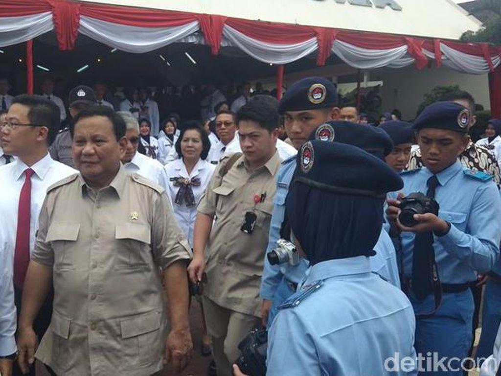 Menhan Prabowo Pamerkan Prestasi Alumni SMA Taruna Nusantara
