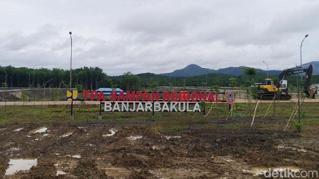 Penampakan TPA Sampah Antibau di Banjarmasin