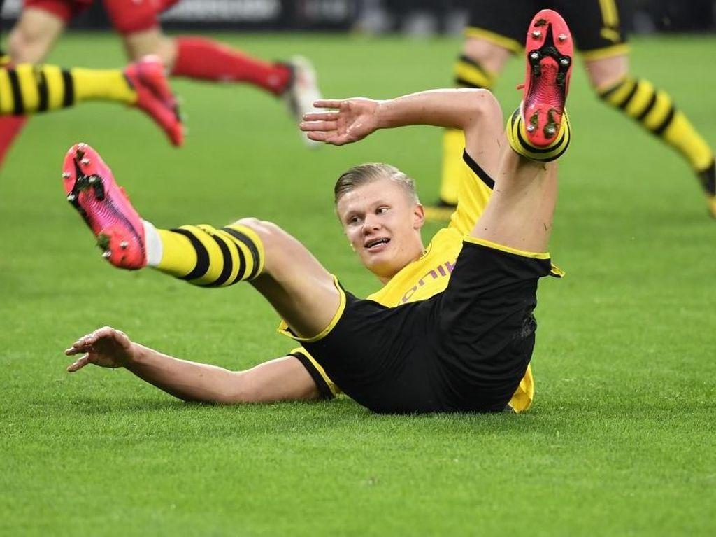 Belum Waktunya Haaland Tampil Penuh Bersama Dortmund