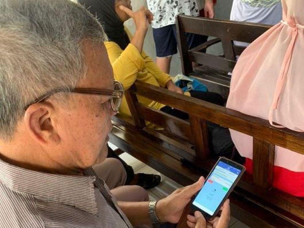 Metode Fingerprint Pangkas Antrean Layanan Cuci Darah di Banjarmasin