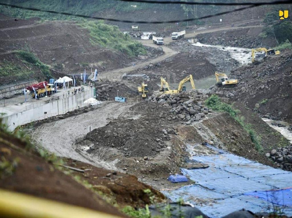 Konstruksi Capai 81%, Bendungan Ciawi Kelar Desember 2021