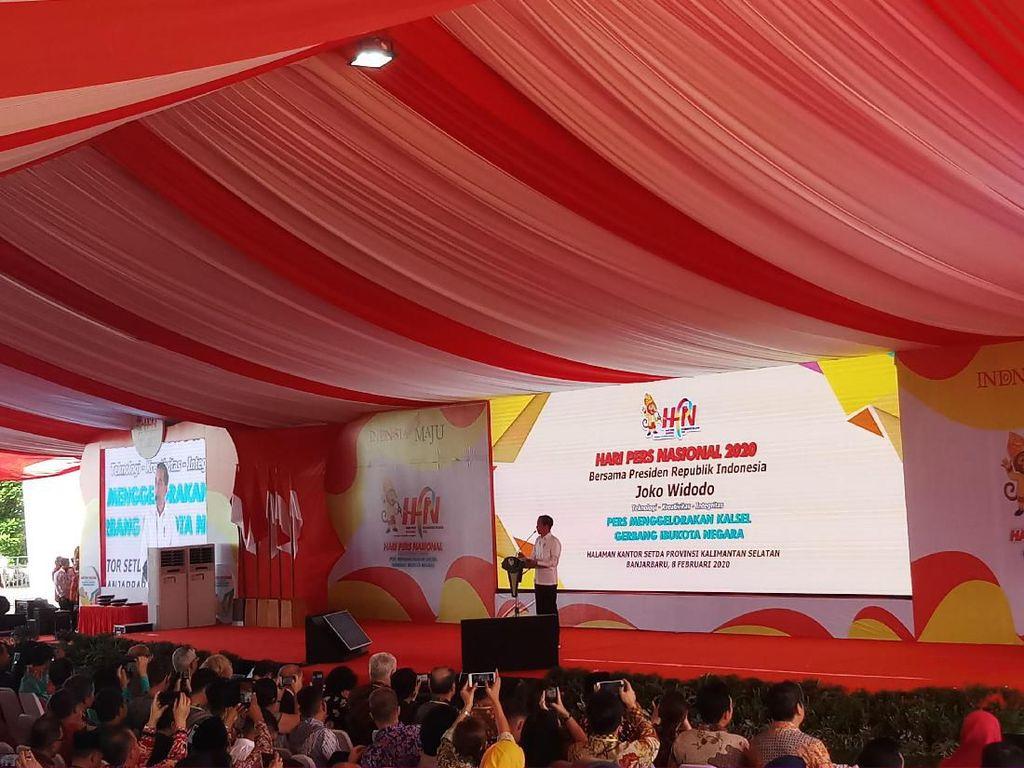 Di Hari Pers Nasional, Jokowi Sebut Kapok Jika Tak Hadir