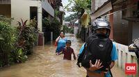 Suatu Malam di Pengungsian Banjir