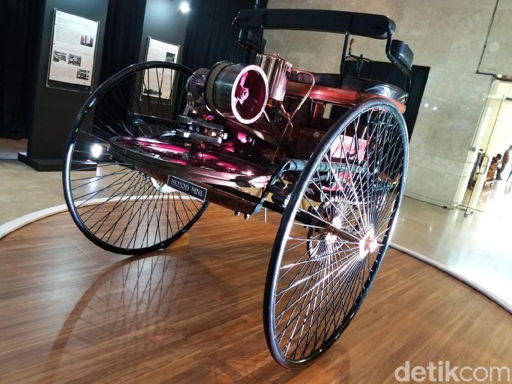 Tampang Mobil Pertama di Dunia, Benz-Patent Motorwagen