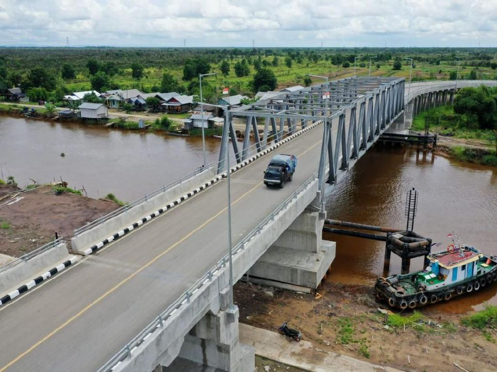 Warga 2 Kabupaten di Kalsel Kini Bersua Tanpa Harus Seberangi Sungai