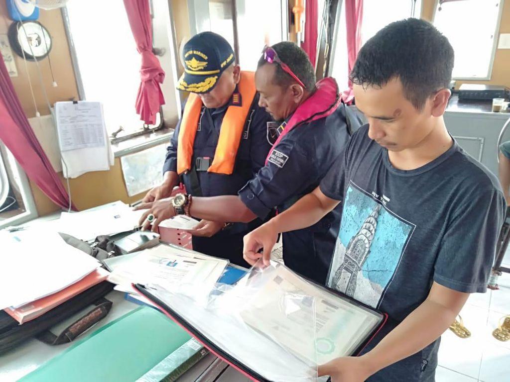 Kapal Patroli di Riau Tangkap Tiga ABK Pengguna Ijazah Pelaut Palsu