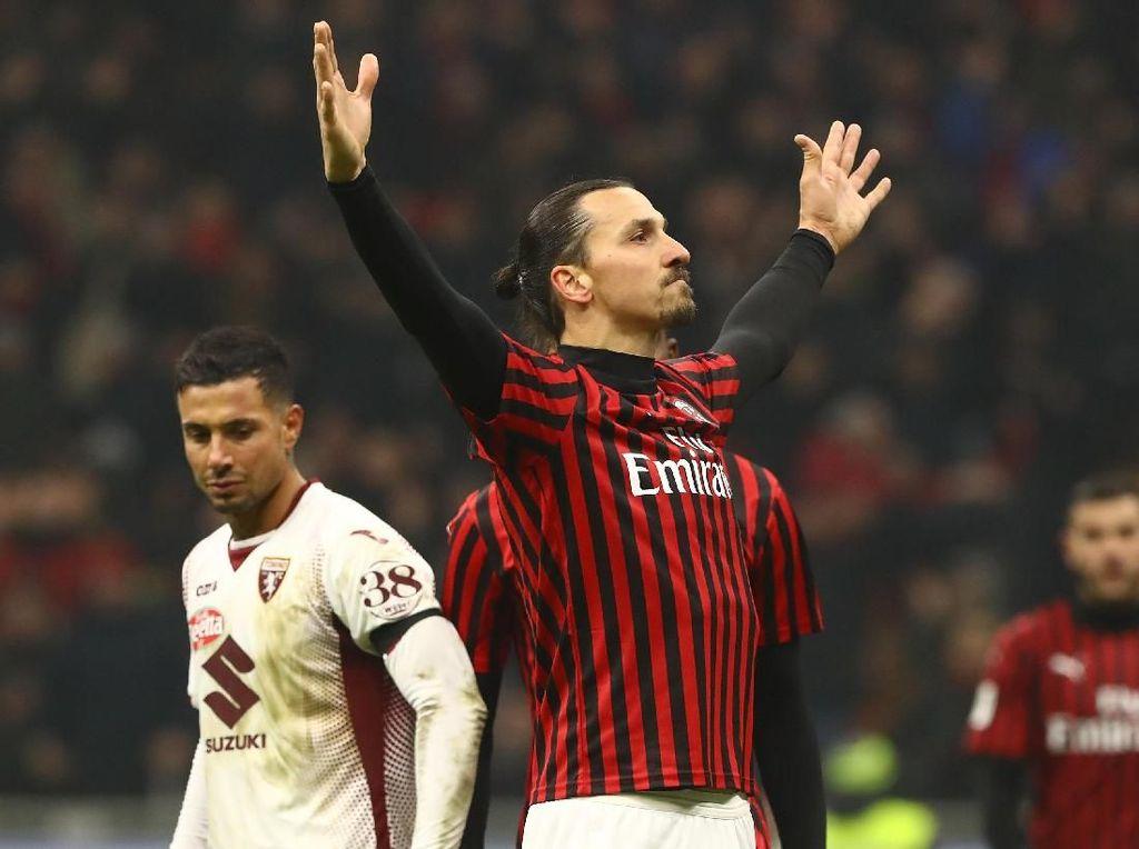 Milan Butuh Ibrahimovic Menuju Derby Lawan Inter