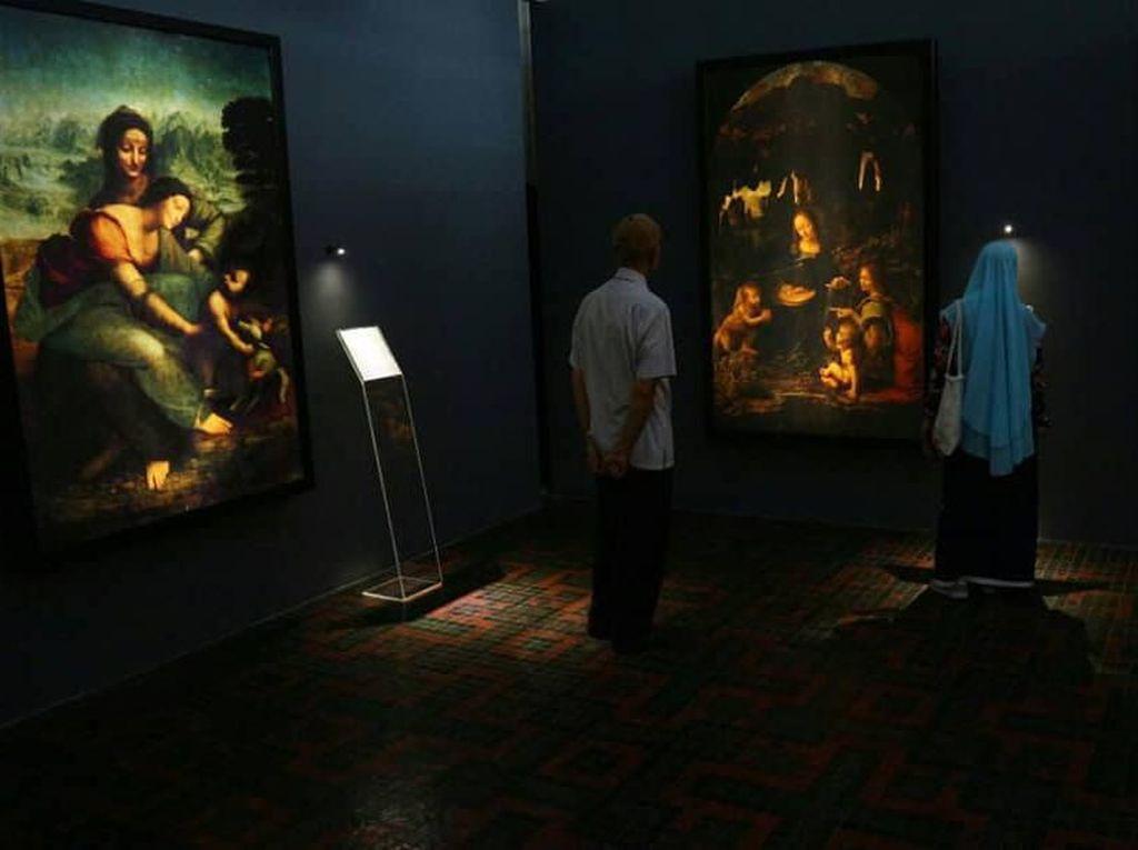 Tak Usah ke Paris, Mona Lisa Hadir di Museum Bank Mandiri