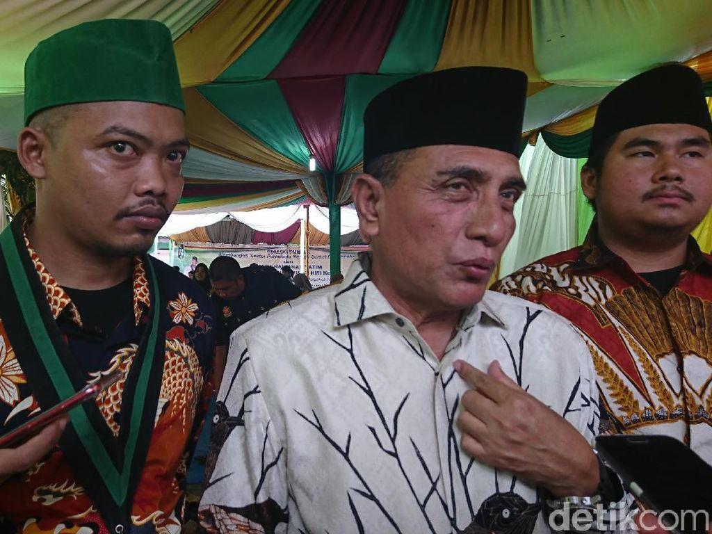 5 TKA Asal China Diobservasi di Karo Sumut, Ini Kata Gubernur Edy Rahmayadi
