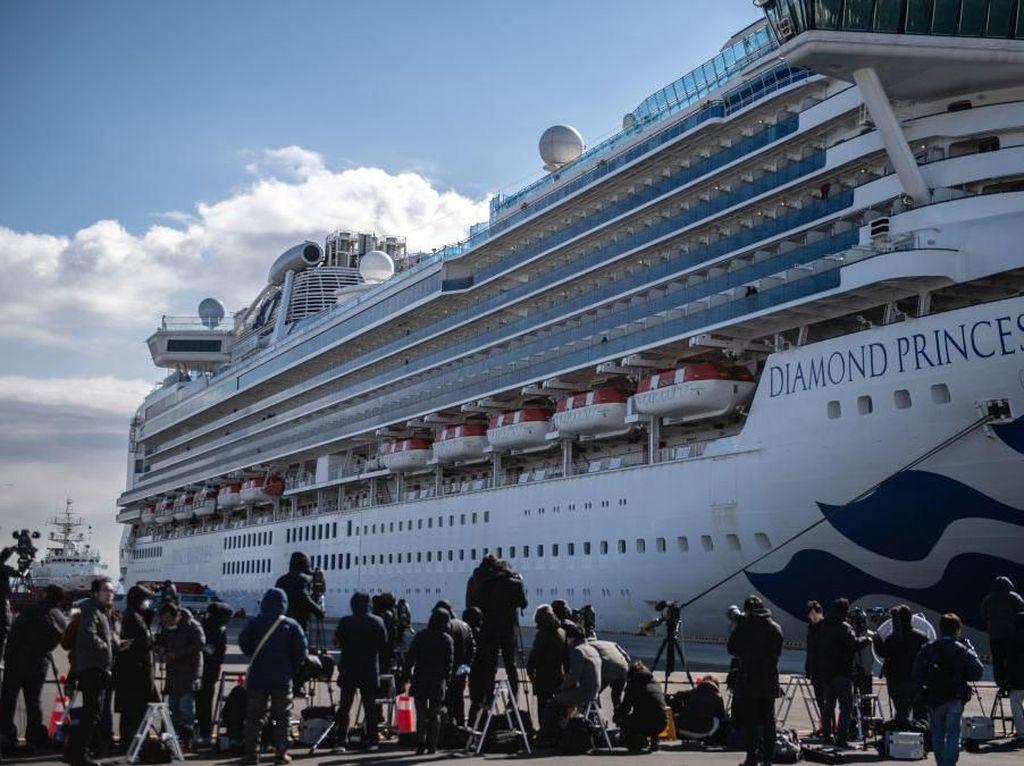 Terus Pantau WNI di Kapal Pesiar Jepang, Kemlu: Mereka Tenang Selama Karantina