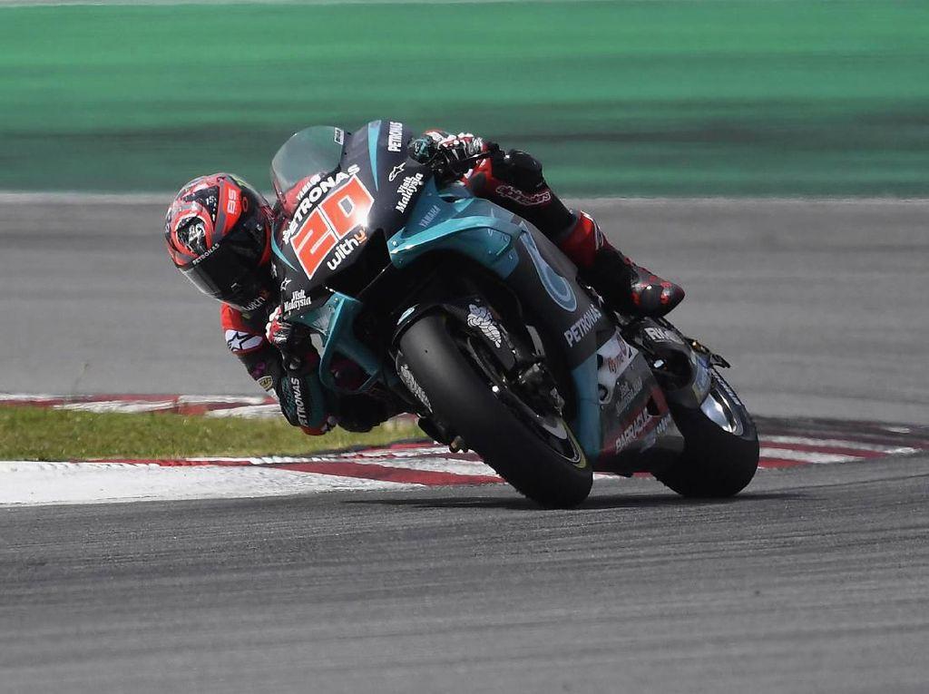 Quartararo Belum Terbendung di Hari kedua Tes MotoGP Sepang
