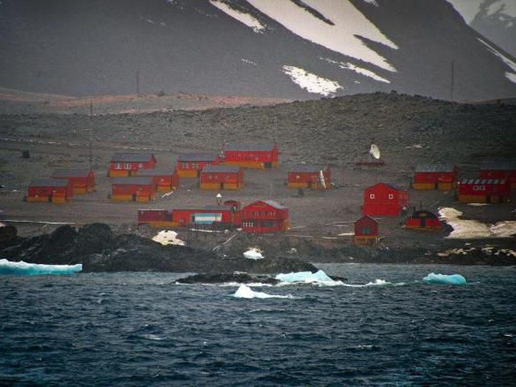 Suhu Terpanas Antartika Pecahkan Rekor