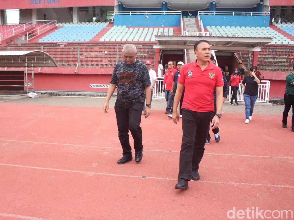 Ketum PSSI: Stadion Gelora Delta Mumpuni Jadi Stadion Pendamping