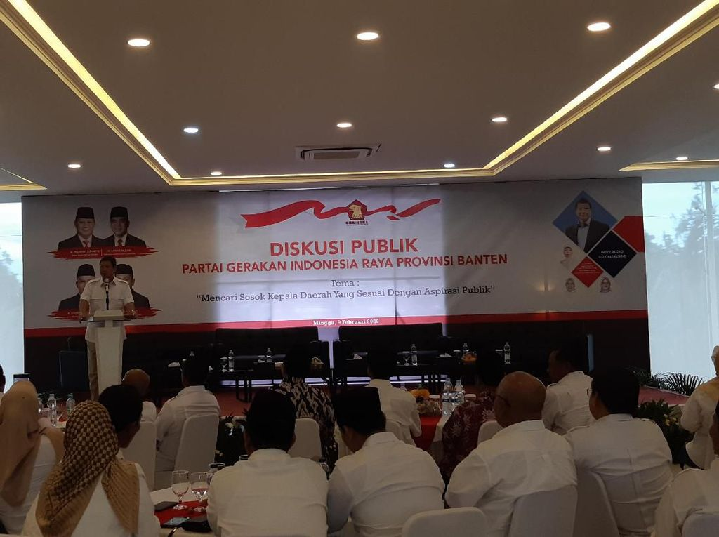Adik Prabowo Minta Gerindra Banten Pilih Kepala Daerah Antikorupsi