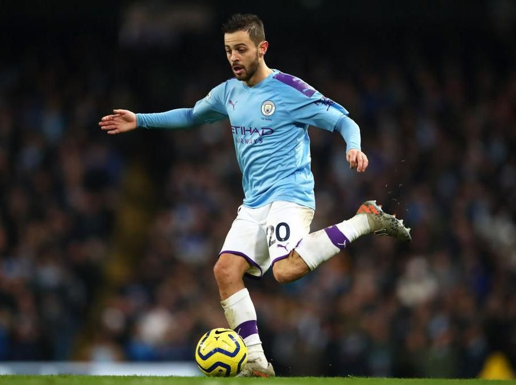 Man City Vs West Ham: Bernardo Silva Siap Jadi Eksekutor Penalti Citizens