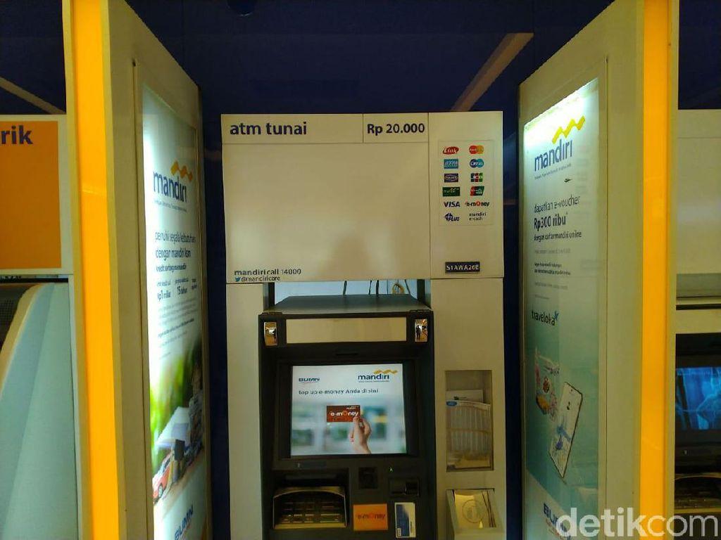 Selain di Menteng, ATM Rp 20 Ribuan Juga Ada di Jaksel