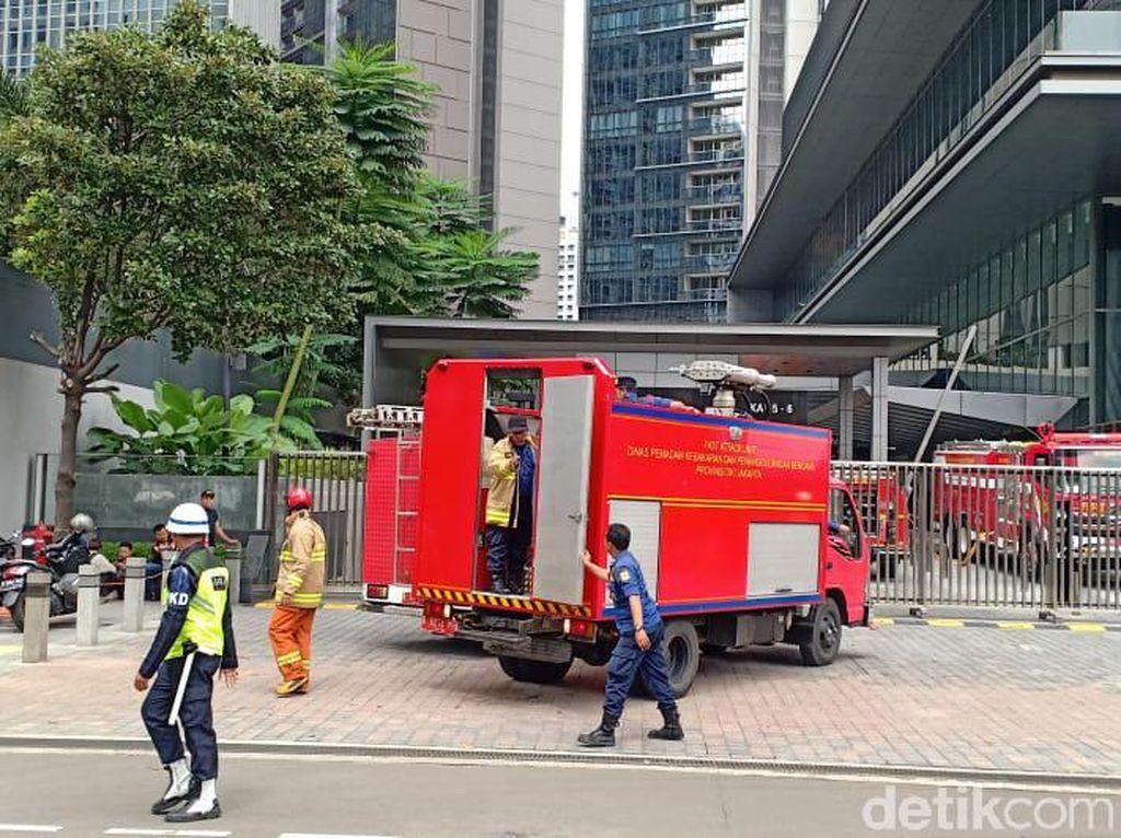Kebakaran di Lantai 58 Menara Astra Jakarta Berhasil Dipadamkan