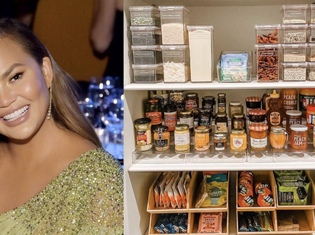 Chrissy Teigen Punya Dapur Super Rapi, Intip Tampilannya!