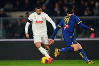 Cristiano Ronaldo Cetak Sejarah, tapi Juventus Kalah