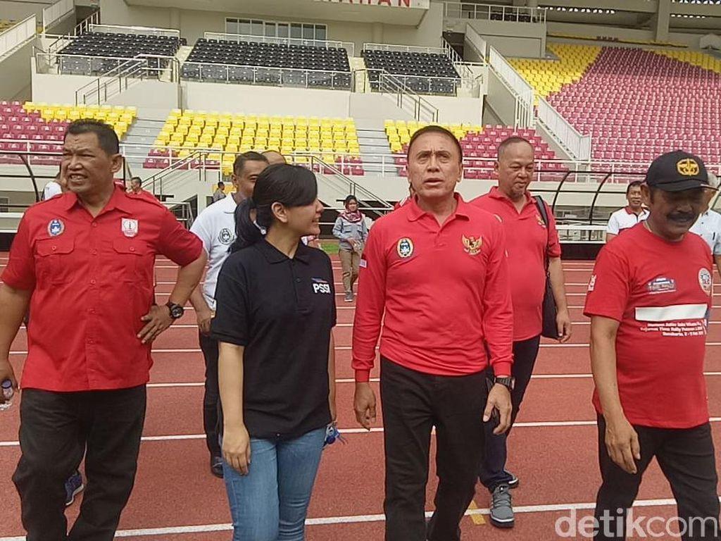 Penilaian Iwan Bule Soal Stadion Manahan: Hampir Sempurna