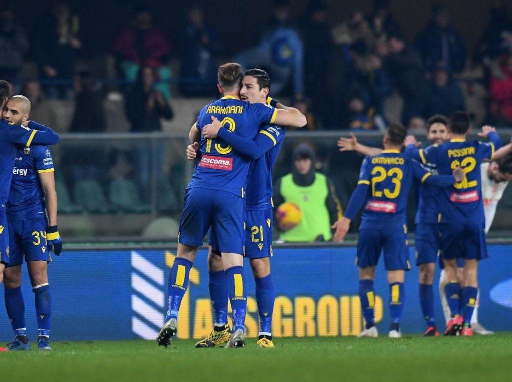 Hellas Verona Mantap Betul: Imbangi Lazio, Kalahkan Juve