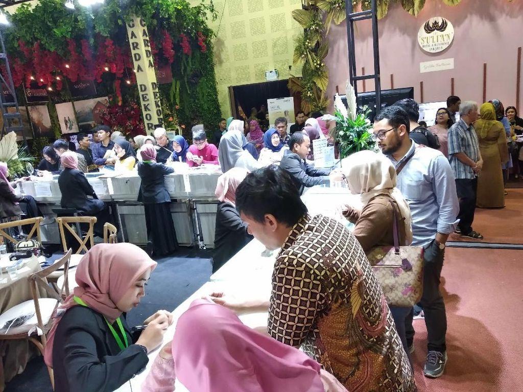 Gebyar Pernikahan Indonesia ke-13, Calon Manten Serbu Vendor Katering
