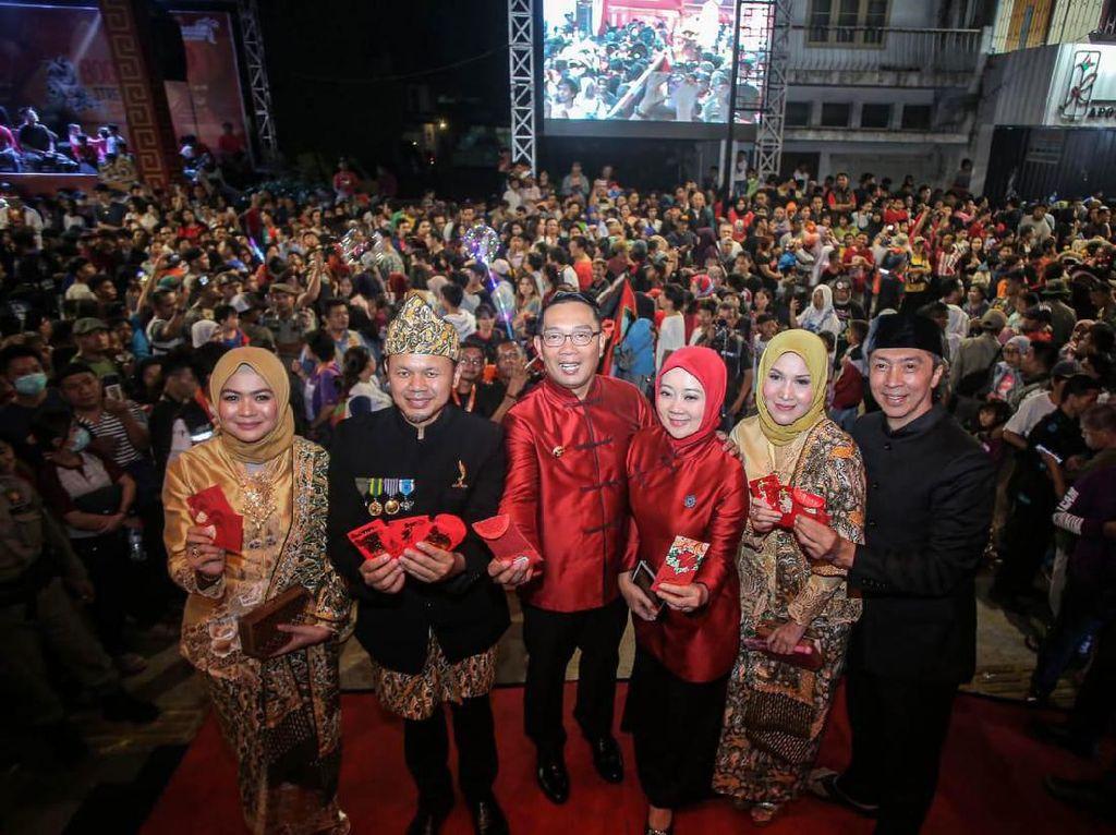 Wishnutama & Kang Emil Minta Bogor Kembangkan Festival Cap Go Meh