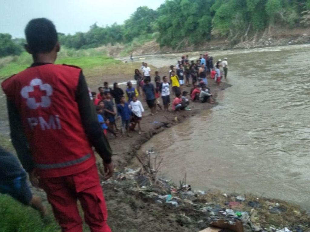 3 Bocah Terseret Arus Saat Mancing di Sungai Pemali Brebes, 1 Hilang