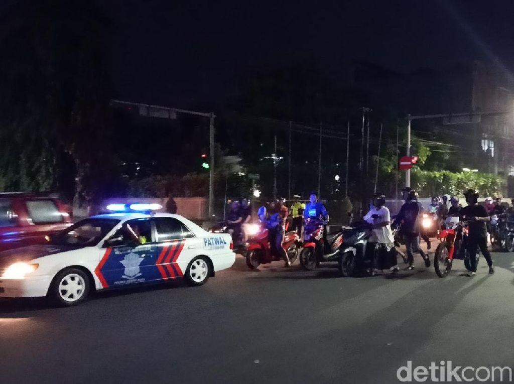 Ratusan Motor Diamankan di Kota Kediri Antisipasi Balap Liar