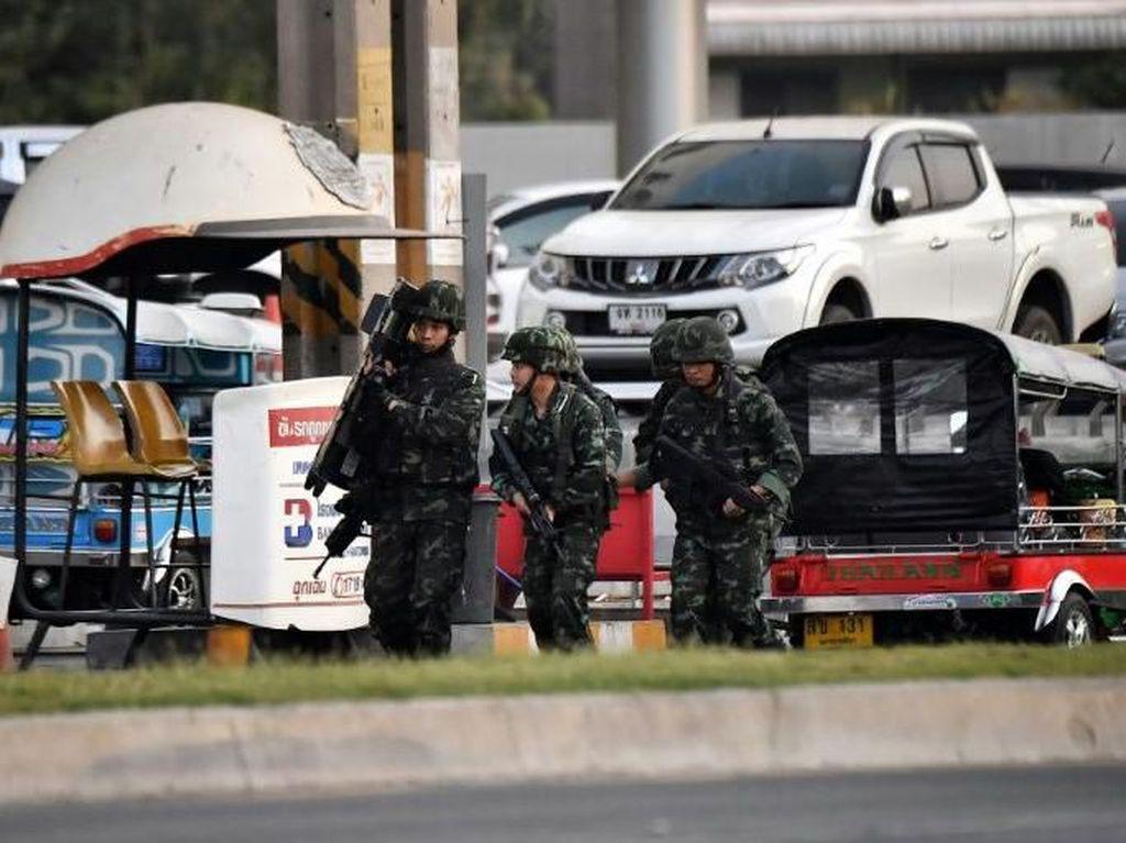 Tentara di Thailand Berondong Tembakan di Mal, 1 Polisi Jadi Korban