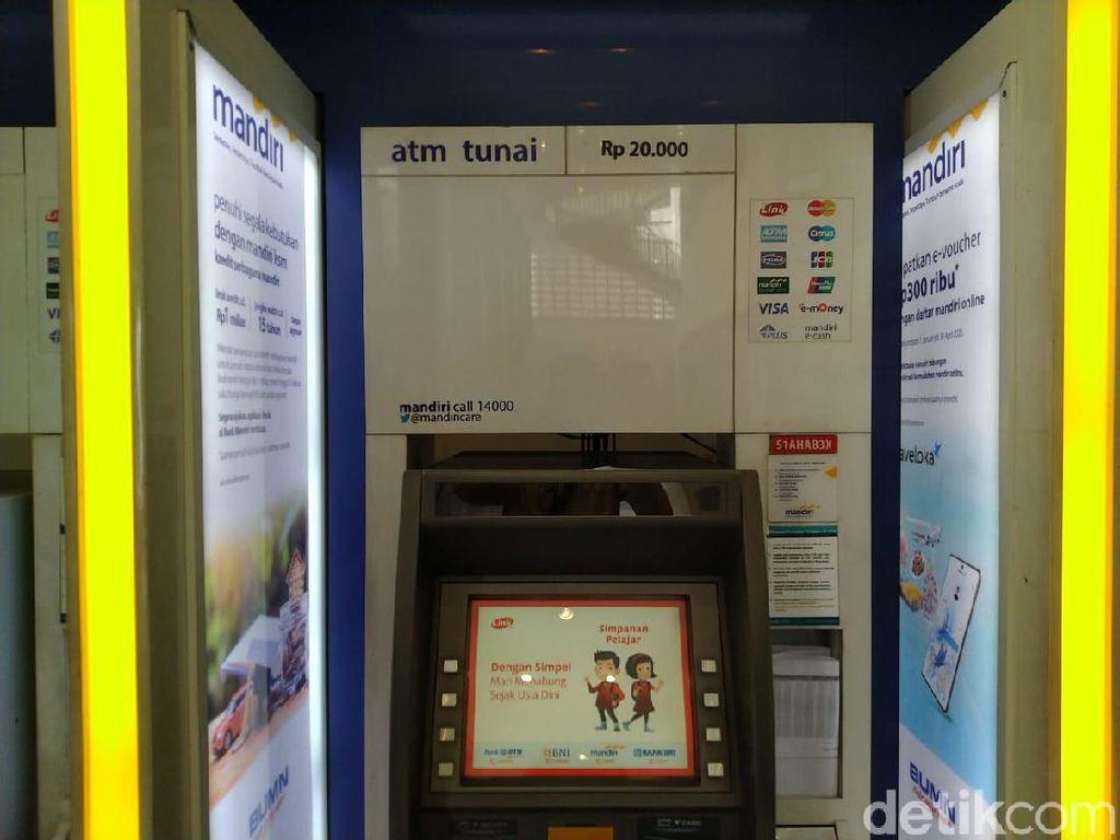 Di Menteng Jakpus, Masih Ada ATM Pecahan Rp 20 Ribuan Lho