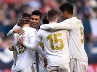 Zidane: Osasuna Menyulitkan, tapi Madrid Memang Pantas Menang