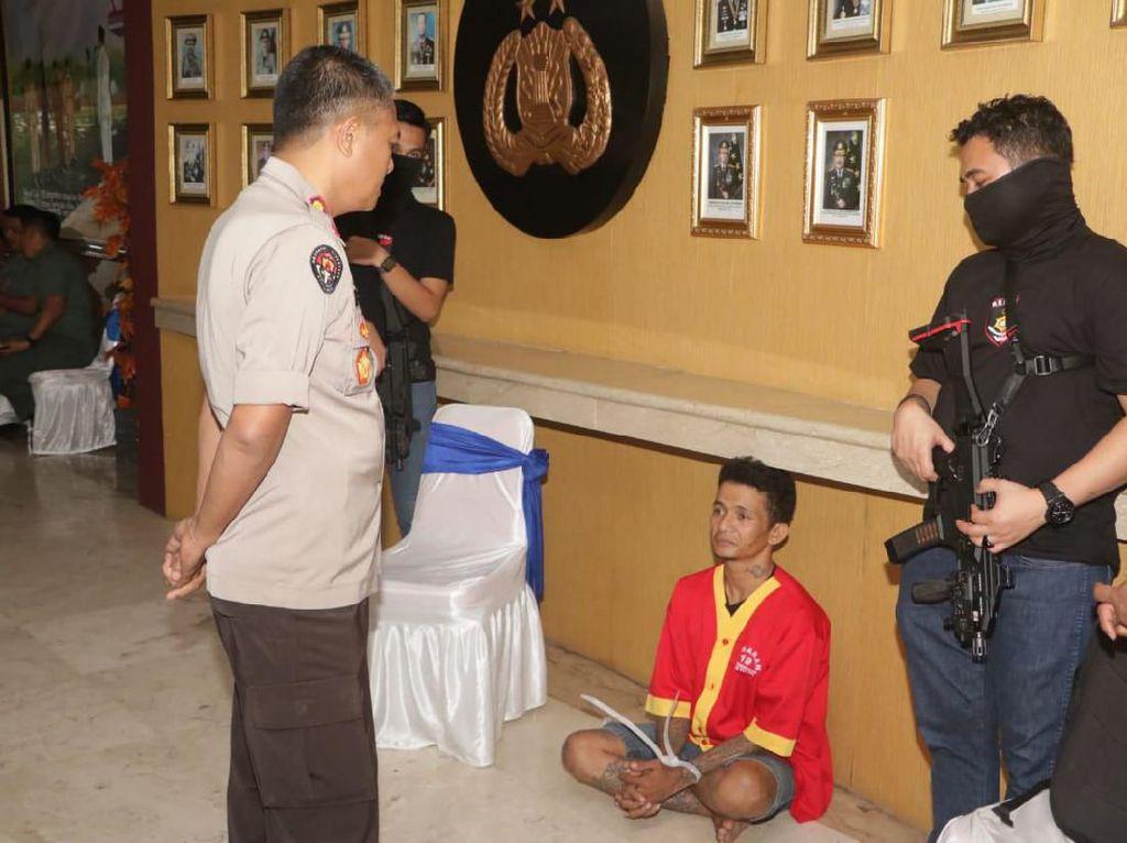 Pembusur-Pembacok Pasutri di Makassar Ditangkap, Ternyata Residivis