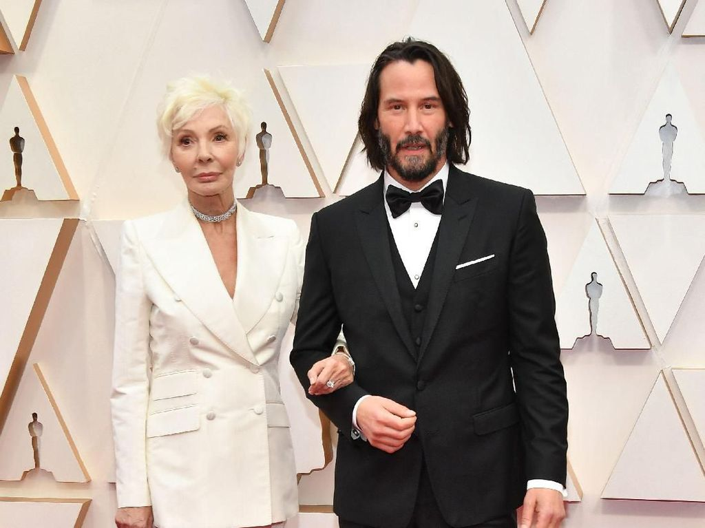 Datang ke Oscar 2020, Ibu Keanu Reeves Disangka Kekasihnya