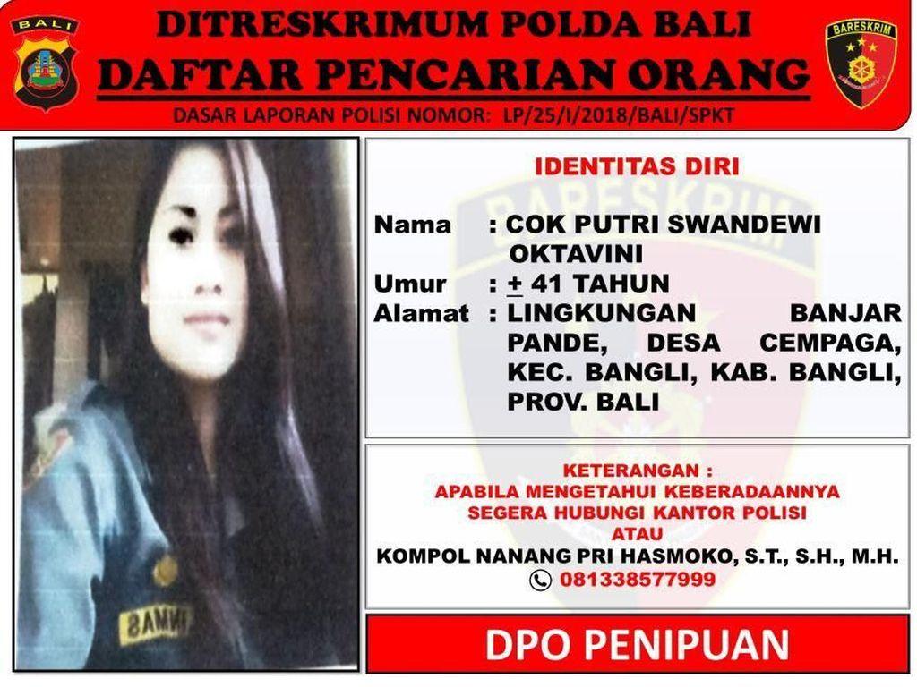 Janda di Bali Jadi Buronan Polisi