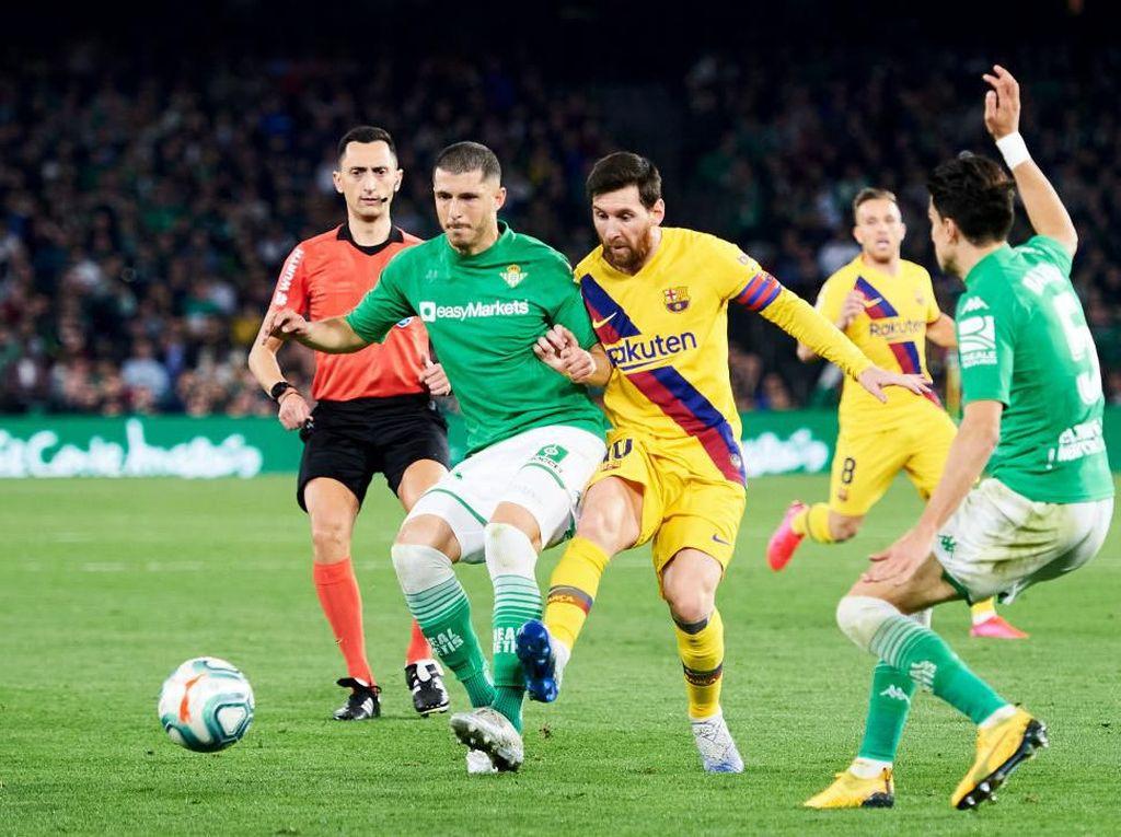 Video: Berbalas Gol! Real Betis Takluk 2-3 dari Barcelona