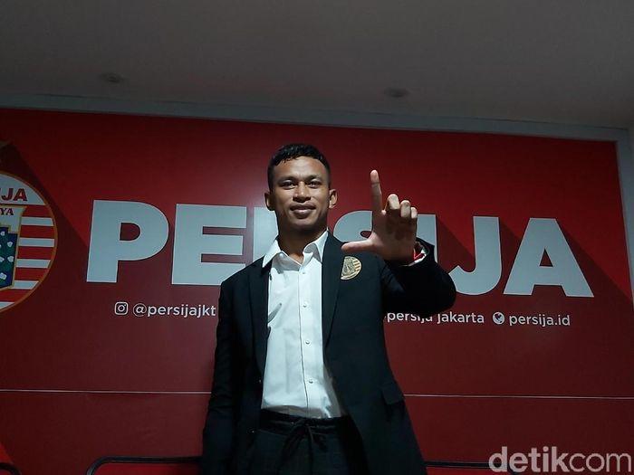 Osvaldo Haay diperkenalkan Persija Jakarta