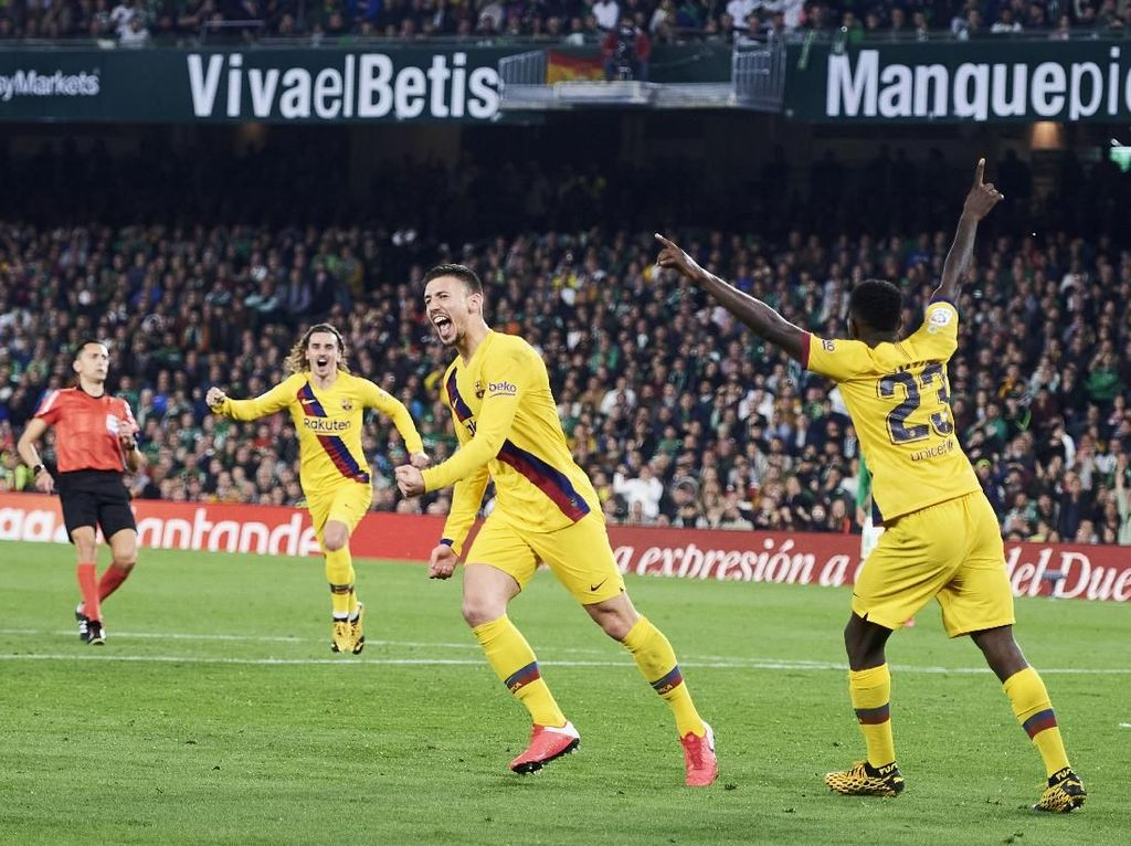 Kontroversi-kontroversi dalam Kemenangan Barcelona atas Betis