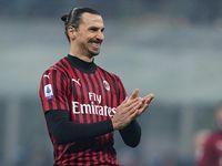 SPAL Vs AC Milan: Zlatan Ibrahimovic Masuk Skuad Lagi