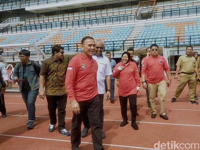 Mochamad Iriawan meninjau Stadion Gelora Bung Tomo