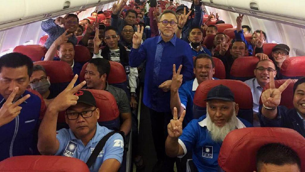 Zulhas Carter Pesawat untuk 392 Voters Menuju Kongres PAN