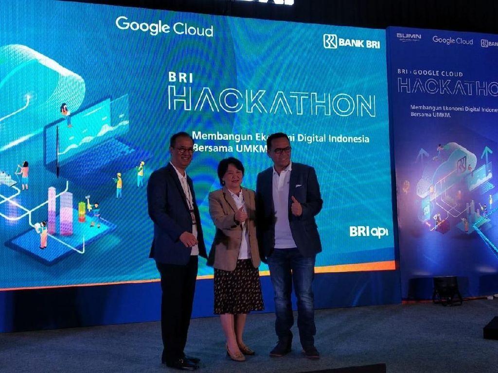 Gaet Google, Bank BRI Cari Startup yang Bantu UMKM