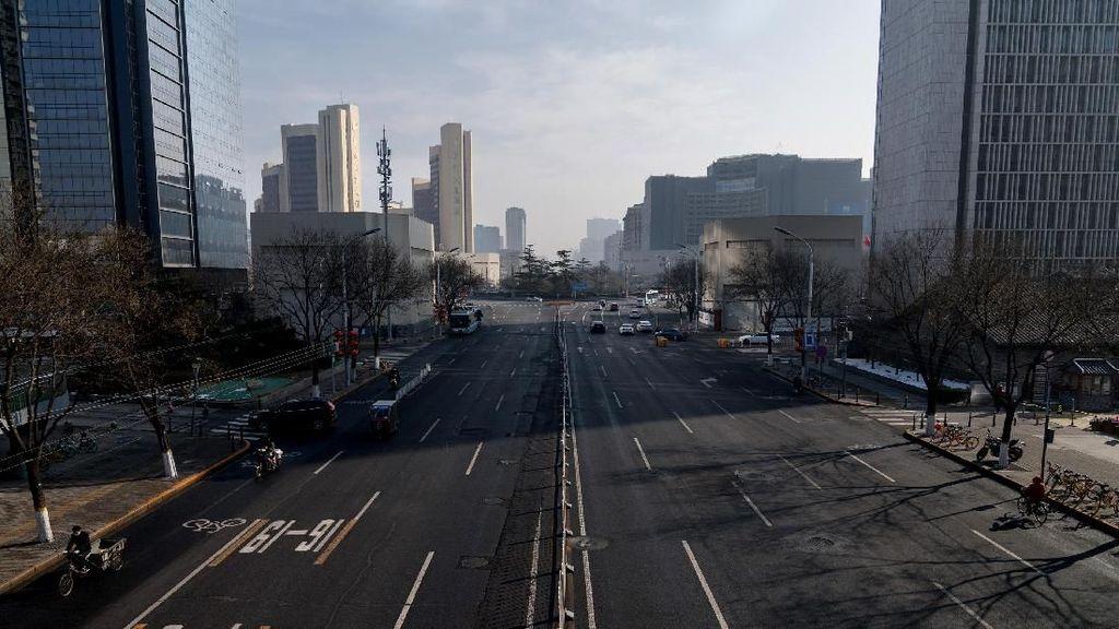 Sepinya Beijing di Hari Terakhir Libur Tahun Baru Imlek